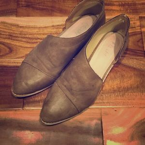 Taupe colored free people royale dupes by miim